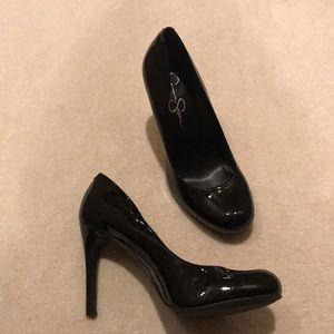 Jessica Simpson Calie black pumps 9.5